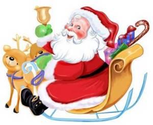 Papai Noel e Feliz Natal em várias línguas
